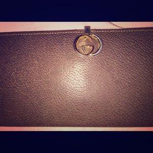 Vintage Gucci wallet/checkbook.